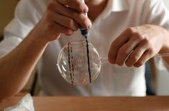 Artista de cristal Fotografía de archivo libre de regalías