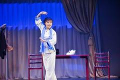 Artista de execução - a mágica mágica histórica do drama da música e da dança do estilo - Gan Po Fotos de Stock