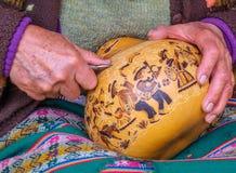 Artista de la calabaza Imagen de archivo
