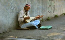 Artista de la calle Foto de archivo libre de regalías
