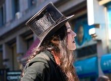 Artista de la calle Fotos de archivo libres de regalías