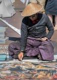 Artista de la calle Imagen de archivo libre de regalías