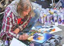 Artista de la calle Fotos de archivo