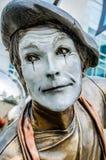 Artista de la mina, payaso Foto de archivo libre de regalías