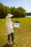 Artista de Lake Foto de archivo