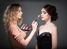 Artista de maquillaje Foto de archivo libre de regalías