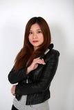Artista de maquillaje asiático Fotografía de archivo libre de regalías