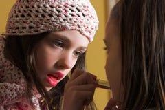 Artista de maquillaje joven Foto de archivo libre de regalías