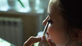 Artista de maquillaje Making compensar a la novia metrajes