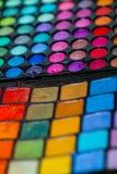 Artista de maquillaje Professional Color Palette Fotografía de archivo