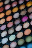 Artista de maquillaje Professional Color Palette Foto de archivo libre de regalías