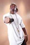 Artista de Rap Christopher Smith Fotografía de archivo