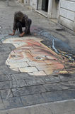 Artista de Veneza Fotografia de Stock Royalty Free