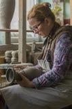 Artista del alfarero Fotos de archivo