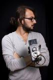Artista del fotografo fotografia stock libera da diritti
