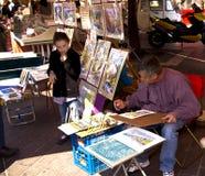 Artista della via Immagine Stock Libera da Diritti