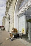 Artista di Sankt Pietroburgo Immagini Stock Libere da Diritti