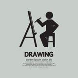 Artista Drawing Picture Symbol Imagen de archivo