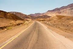 Artista Drive, o Vale da Morte Fotos de Stock