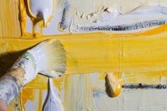Artista en el trabajo Imagen de archivo libre de regalías