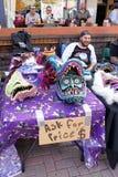 Artista Fair em Fort Worth, Texas Fotografia de Stock Royalty Free