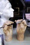 Artista Hands Imagen de archivo