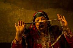 Artista a Il Cairo Fotografia Stock