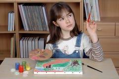 Artista joven Foto de archivo libre de regalías