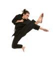 Artista marcial do estilo livre Imagem de Stock Royalty Free