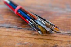 Artista Paint Brush Bundle Imagen de archivo