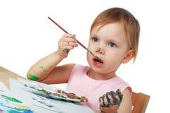 Artista pequeno Fotografia de Stock