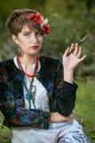Artista popular da mulher Imagens de Stock Royalty Free