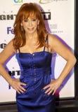 Artista y actriz Reba McEntire de la música country Imagen de archivo libre de regalías