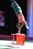 Artistas del circo chino Foto de archivo libre de regalías