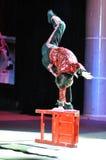 Artistas del circo chino Fotografía de archivo
