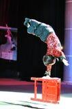 Artistas del circo chino Imagen de archivo