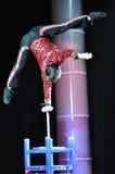 Artistas del circo chino Fotos de archivo