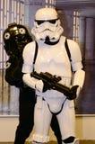 Star Wars dos artistas do fundo Imagens de Stock Royalty Free