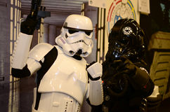Star Wars dos artistas do fundo Foto de Stock Royalty Free