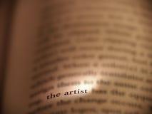Artiste Photographie stock libre de droits