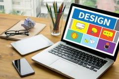 Artiste Creati de concepteur d'idées de Design Creativity Thinking de concepteur Image libre de droits