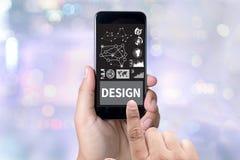 Artiste Creati de concepteur d'idées de Design Creativity Thinking de concepteur Images libres de droits