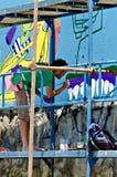 Artiste de graffiti Images stock