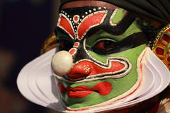 Artiste de Kathakali photographie stock