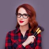 Artiste de maquillage Images stock