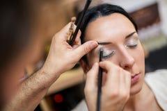 Artiste de maquillage Photo libre de droits