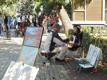 Artiste de rue Image libre de droits