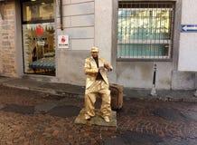 Artiste de rue Images libres de droits