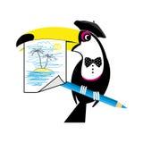 Artiste de toucan Photos libres de droits
