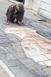 Artiste de Venise Image libre de droits